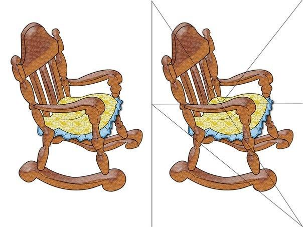 кресло разрезанная картинка