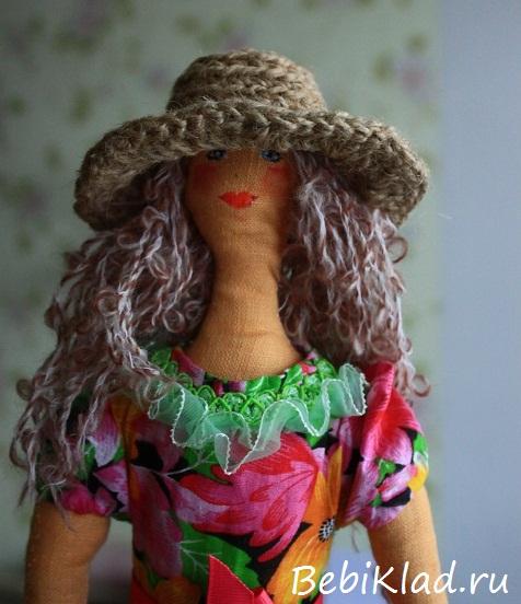 11 шляпка для куклы.
