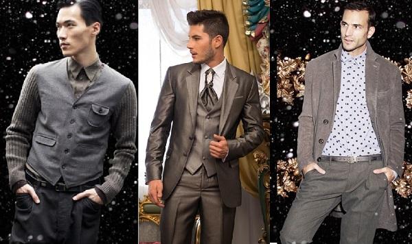 мужчины новогодний наряд