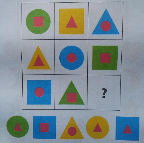 задания для детей дошкольников на логику