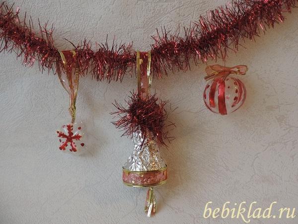 новогодние поделки на елку