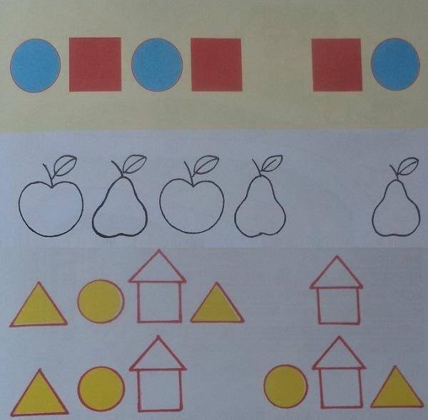 22 занятие для ребенка 3-4 лет