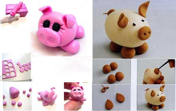 лепим свинью
