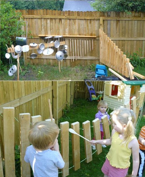 3 идея для детской площадки