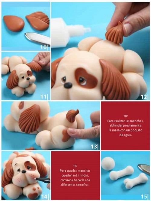 собака из пластилина инструкция 2