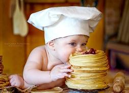 Как научить ребёнка жевать еду