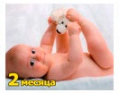 Рост и вес ребенка 2 месяца