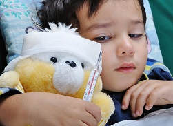 Высокая температура у ребенка без симптомов причины