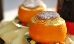 апельсиновое новогоднее суфле