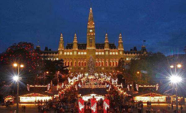 австрия вена новый год