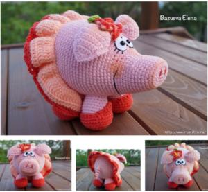 свинка вязка схема 6