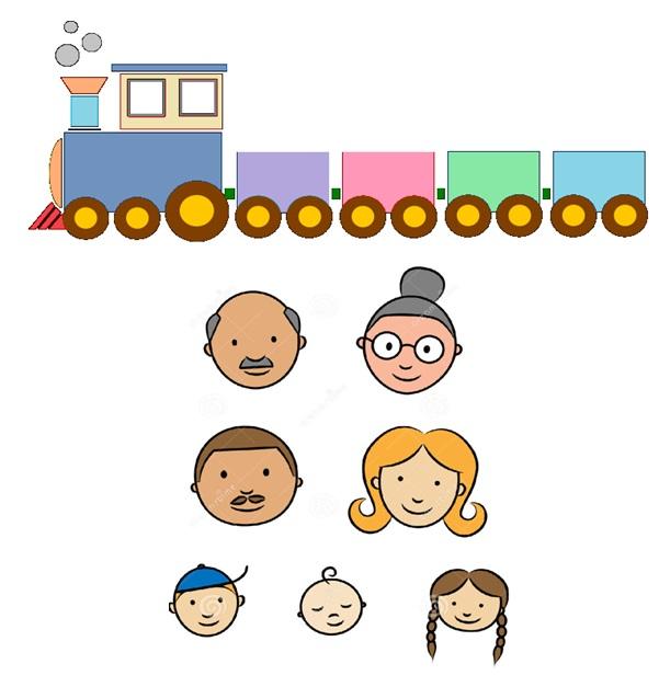 семейный паровозик