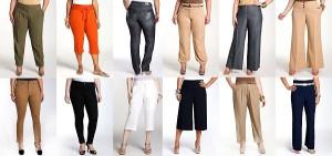 брюки для полных