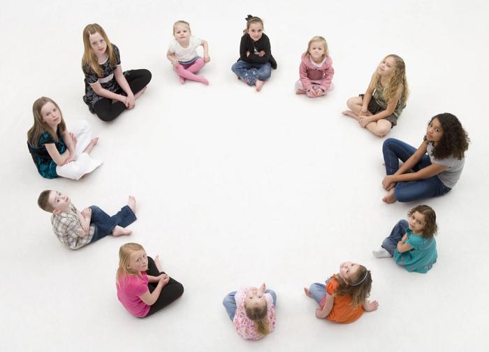 дети игра в круг