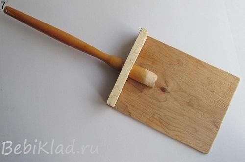 Лопата детская как сделать