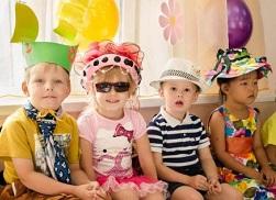 детские панамки для конкурса
