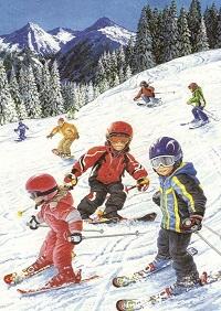 детские стихи о зиме