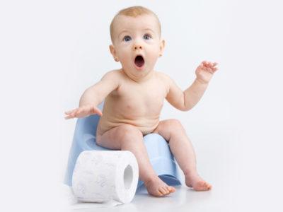 Причины запоров у новорождённых