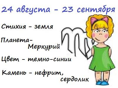 Ребенок девочка дева гороскоп