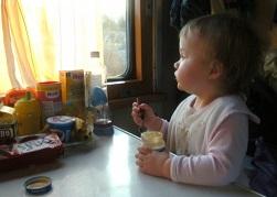 еда для малыша в поездке