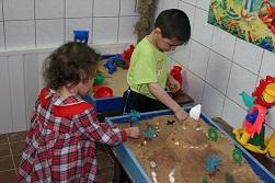 игры с песком дома