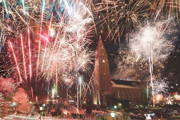 исландия новый год