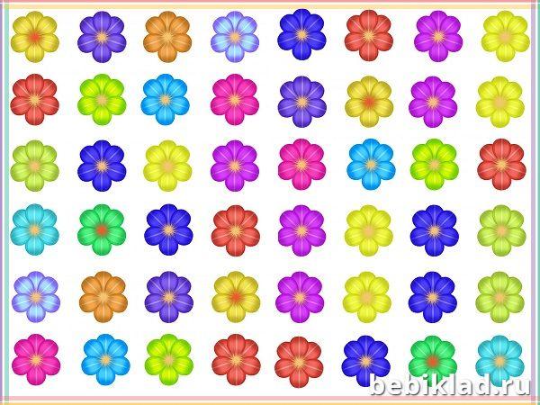 цветочки соедини