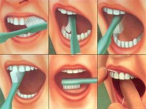 как чистить детские зубы