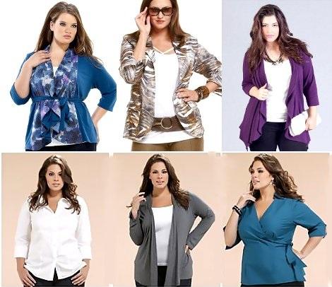 как одеваться полным