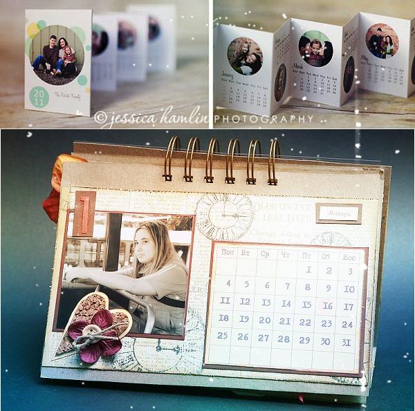 календарь новогодний с фото