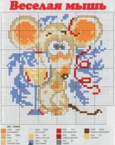 канва мышь 2