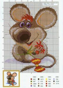 канва мышь 9