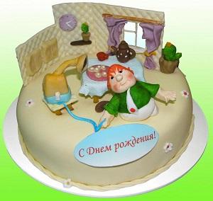 карлсон на торте