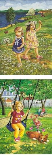 картинки и стихи для детей признаки лета