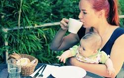 кофе кормящим мамам