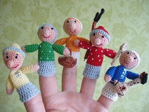 кукольный театр вязанный