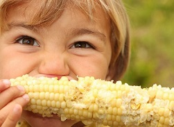 кукуруза детям