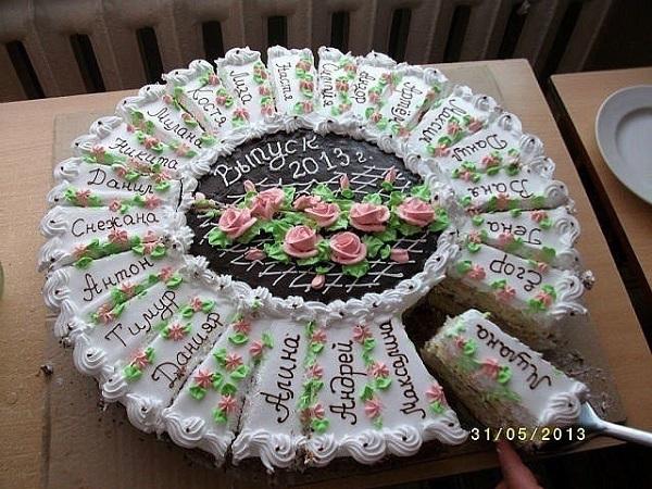 торт в садик