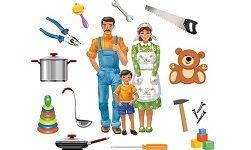 семья тема дети