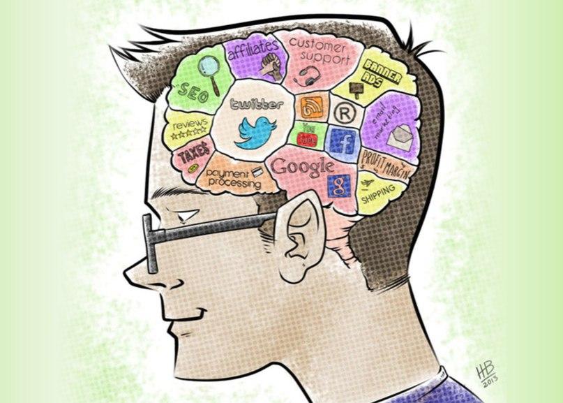 мозг подростка рисунок