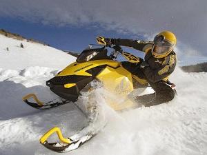 на снегоход права