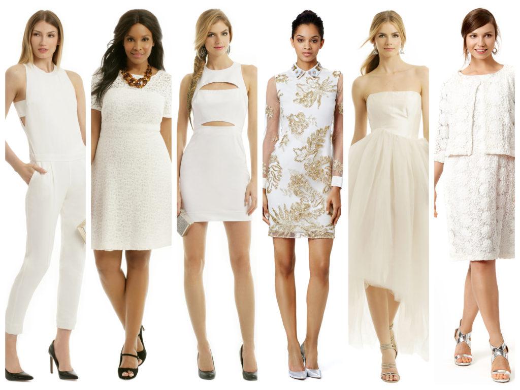 Белое платье на новый год 2019