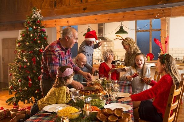 новогодний семейный вечер