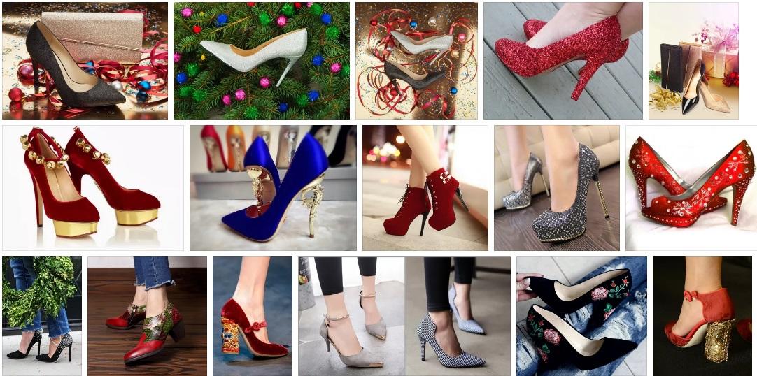 новогодняя обувь