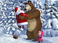 новогодняя песня маши и медведя