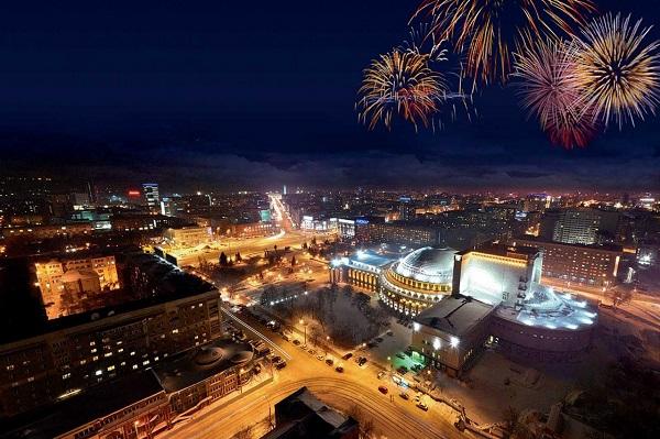 новосибирск новогодний