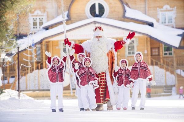 новый год в россии весело