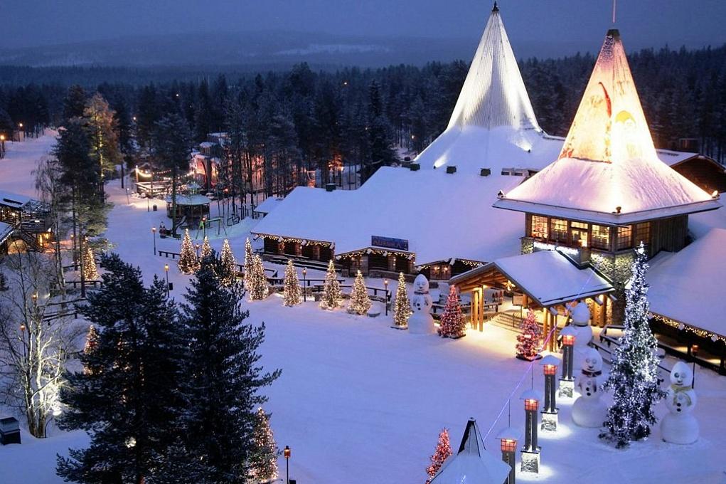 новый год финляндия