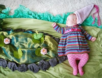 Фотографировать спящего ребенка