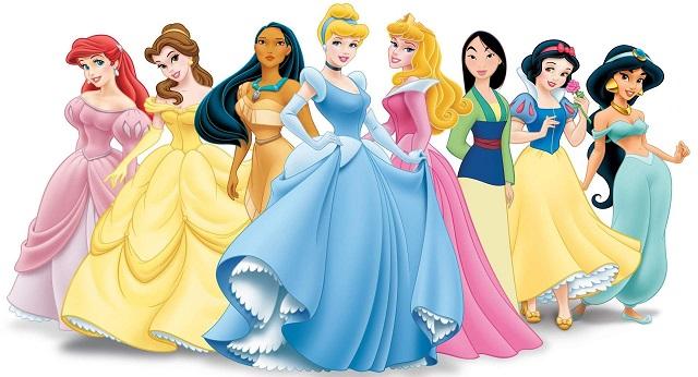 принцессы из диснея